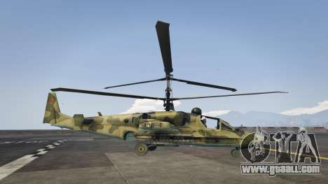 Ka-52 Alligator for GTA 5