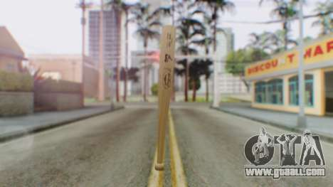 Vice City Baseball Bat for GTA San Andreas second screenshot