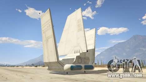 GTA 5 Star Wars: Imperial Shuttle Tydirium third screenshot