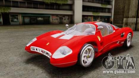 Ferrari P7 Chromo for GTA San Andreas