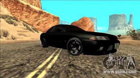 Nissan Skyline R32 Drift for GTA San Andreas back view