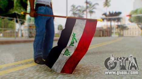 Iraq Flag HD for GTA San Andreas third screenshot