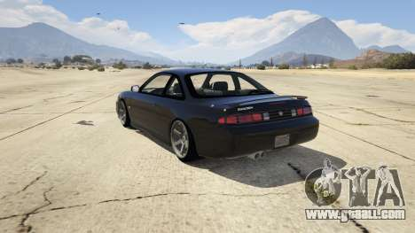 GTA 5 Nissan 200sx S14 Kouki rear left side view