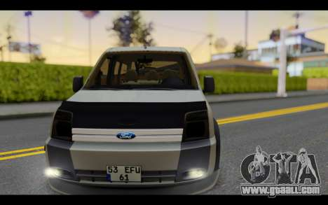 Ford Connect Rizeli for GTA San Andreas back view