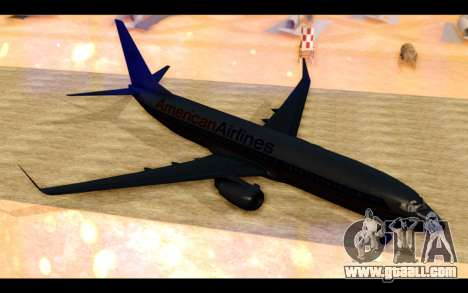 Boeing 737-800 American Airlines for GTA San Andreas left view