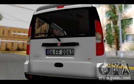 Fiat Doblo for GTA San Andreas inner view