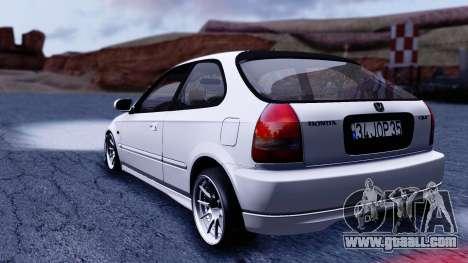 Honda Civic 1.6 Hatchback for GTA San Andreas left view