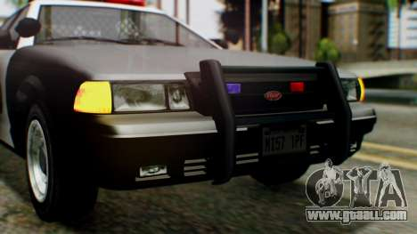 GTA 5 Police LV for GTA San Andreas side view