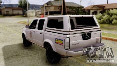 Nissan Frontier ABS CBN for GTA San Andreas left view