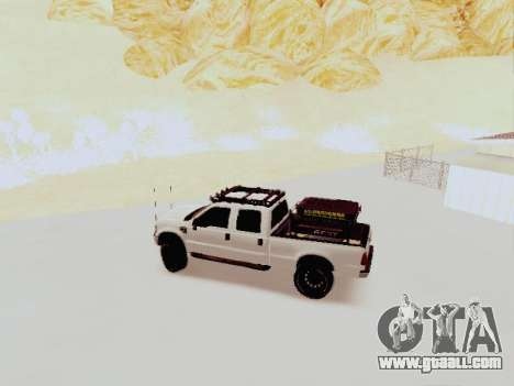 Ford F-250 Full Off-Road for GTA San Andreas left view