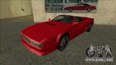 Cheetah Cabrio for GTA San Andreas