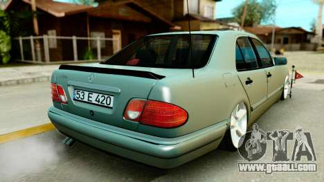 Mercedes-Benz E420 for GTA San Andreas left view