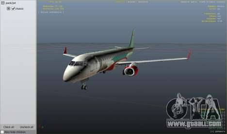 Embraer 195 Wind for GTA 5