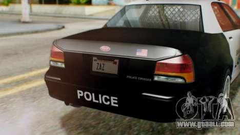 GTA 5 Police LV for GTA San Andreas right view