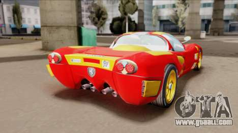 Ferrari P7-2 Iron Man for GTA San Andreas left view