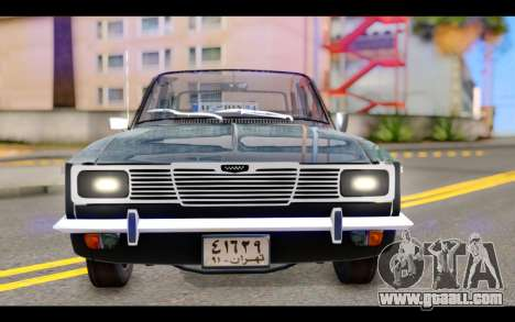 Peykan 1347 Classic for GTA San Andreas back view
