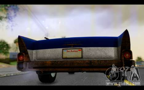 Declasse Tornado Mexico for GTA San Andreas back view