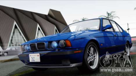 BMW M5 E34 US-spec 1994 (Full Tunable) for GTA San Andreas left view