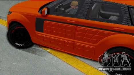 GTA 5 Gallivanter Baller LE Arm IVF for GTA San Andreas back left view