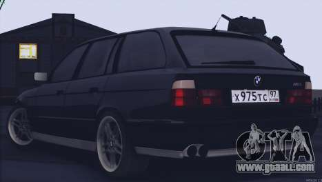 BMW M5 E34 Touring 1995 for GTA San Andreas right view