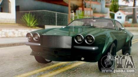 GTA 5 Imponte Nightshade for GTA San Andreas