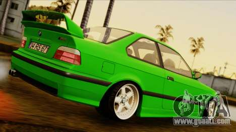 BMW M3 E36 [34RS671] for GTA San Andreas back left view