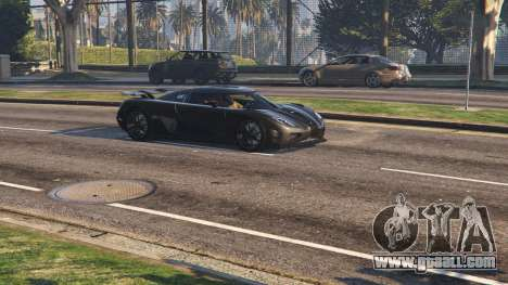 GTA 5 2014 Koenigsegg Agera R v1.0 back view