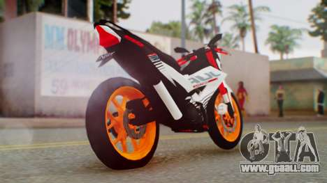 Honda Sonic 150R KingLivery for GTA San Andreas left view