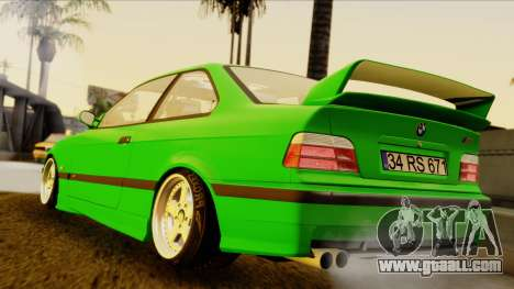 BMW M3 E36 [34RS671] for GTA San Andreas left view