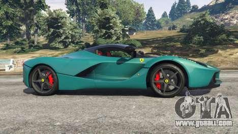 GTA 5 Ferrari LaFerrari 2015 v1.2 left side view