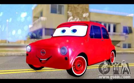 Zastava 750 - The Cars Movie for GTA San Andreas