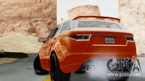 GTA 5 Gallivanter Baller LE Arm IVF for GTA San Andreas left view