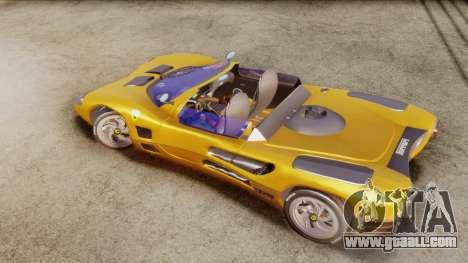 Ferrari P7 Cabrio for GTA San Andreas back left view