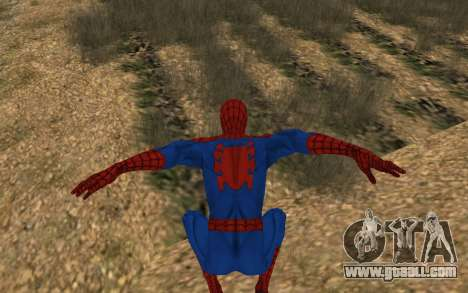 Amazing Spider-Man Comic Version by Robinosuke for GTA San Andreas fifth screenshot