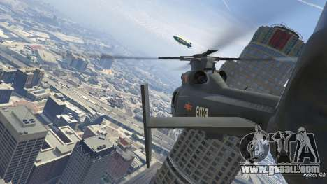 Harbin Z-9 for GTA 5