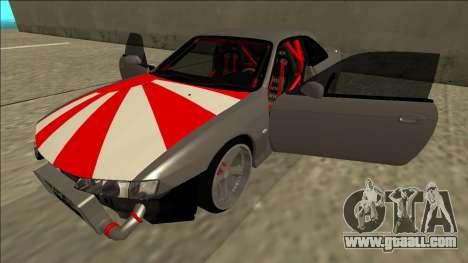 Nissan Silvia S14 Drift JDM for GTA San Andreas bottom view
