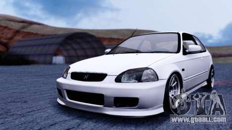 Honda Civic 1.6 Hatchback for GTA San Andreas right view
