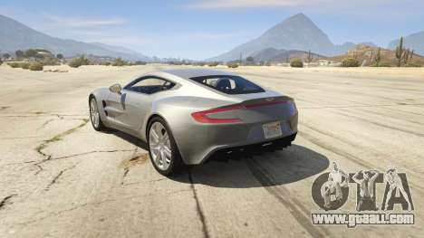 2012 Aston Martin One-77 v1.0 for GTA 5