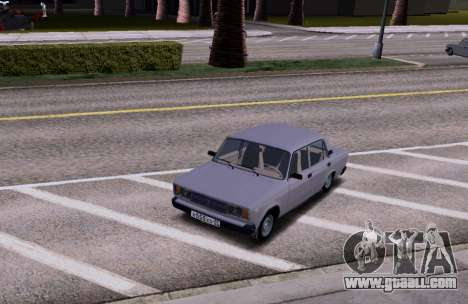VAZ 2105 KBR for GTA San Andreas back view