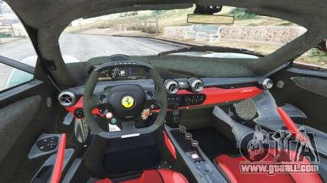 GTA 5 Ferrari LaFerrari 2015 v1.2 rear right side view