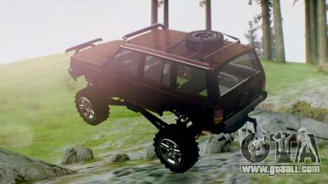 Jeep Cherokee 1984 4x4 for GTA San Andreas left view