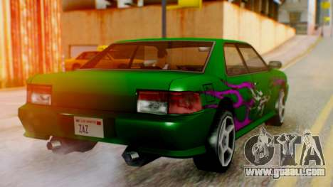 Sultan Винил из Need For Speed Underground 2 for GTA San Andreas left view