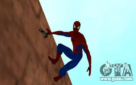 Amazing Spider-Man Comic Version by Robinosuke for GTA San Andreas second screenshot