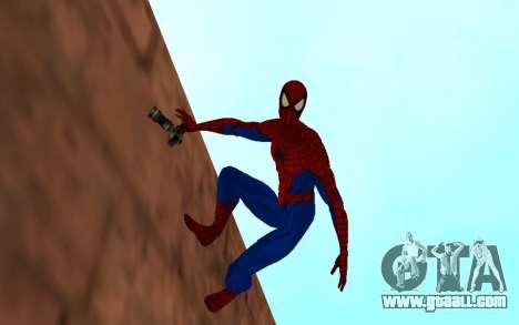 Amazing Spider-Man Comic Version by Robinosuke for GTA San Andreas second screenshot