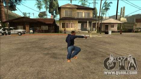 Additional animation TEC-9 for GTA San Andreas