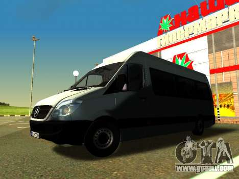 Mercedes-Benz Sprinter Long for GTA San Andreas side view