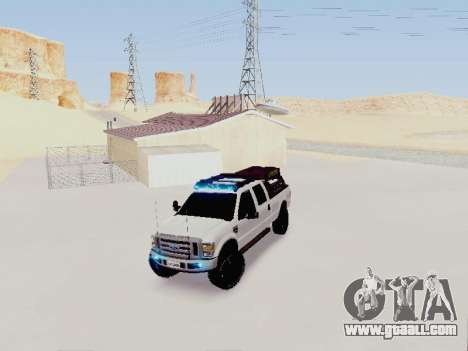 Ford F-250 Full Off-Road for GTA San Andreas right view