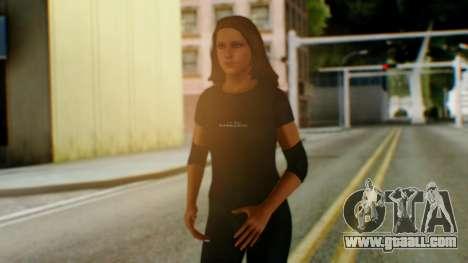 Stephani WWE for GTA San Andreas