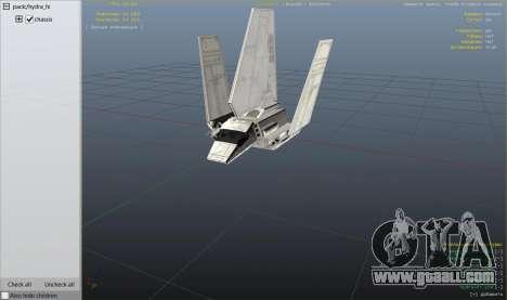 GTA 5 Star Wars: Imperial Shuttle Tydirium sixth screenshot
