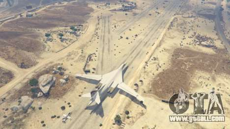 GTA 5 Tu-160 White Swan fifth screenshot